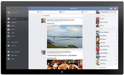 Ứng dụng Facebook